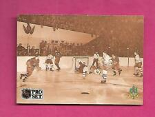 1991-92 PROSET #340 LEAFS BILL BARILKO THE END OF THE INNOCENCE (INV# D2646)