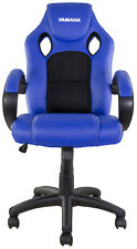 NEW BIKETEK YAMAHA BLUE OFFICE GARAGE MOTOCROSS MX ENDURO RACE TEAM RIDER CHAIR