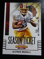 2014 Panini Contenders Season Ticket #81 Alfred Morris Washington Redskins Card