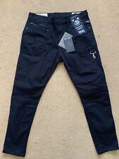 "Diesel Men's D-Phormer Biker Stretch Black Jeans, Size W34""-L30"", £250"