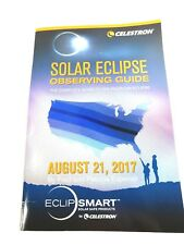Celestron EclipSmart Solar Observing book keepsake 2017 solar eclipse guide