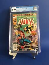 Nova #4 CGC 6.0 WP 1st App of Corruptor THOR vs NOVA Jack Kirby & Sinnott Cover