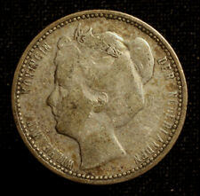 Kgr. Niederlande, Wilhelmina, 25 Cents 1904