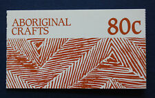 Australia (#1049a) 1987 Aboriginal Crafts Mnh complete booklet