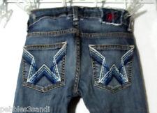PEOPLES LIBERATION Jeans 24x31 Rock STAR Pockets Bootcut Dark wash DesignerDenim