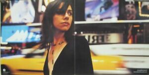 PJ Harvey 2000 Stories City 2 sided promotional poster Flawless New Old Stock