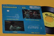 """CORRADO E I 93 7"""" 45 EP GUARDA CHE LUNA ORIG ITALY BEAT '60 EX"""