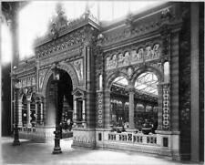 Photo. 1889. Paris World Exhibition - Ceramics Exhibition