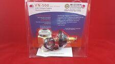 Western Enterprises HVAC Nitrogen Purging Regulator Flowmeter VN-500 Made In USA