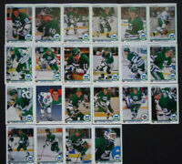 1990-91 Upper Deck UD Hartford Whalers Team Set of 22 Hockey Cards