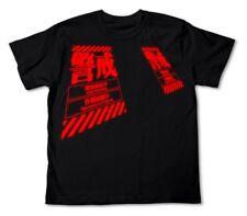 EVANGELION Watch T-shirt L BLACK NEW 100% cotton from JAPAN