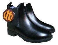 SALE New Brogini Ladies Quality Leather Jodhpur Boots Black Sizes 3 4 5 6 6.5 7