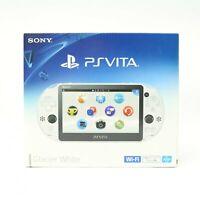 PS Vita - Konsole #Slim weiß / Glacier White + Netztl JAPAN mit OVP NEUWERTIG