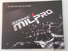Zodiac Milpro Product Catalog Booklet For Those Who Work on Water