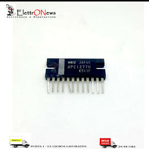 Circuito integrato UPC1277H Dual audio power amplifier 4.2W IC NEC