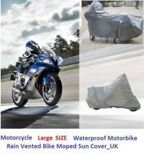 Motorcycle Cover Waterproof Motorbike Rain Vented Bike Moped Sun Cover_Large Siz