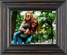 "Polaroid 8"" Digital Picture Frame Black Wood Frame - Brand New in Box"