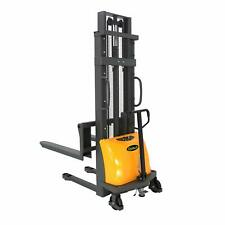 Apollolift Semi Electric Lift Stacker Load Capacity 3300lbs 118 Lift Height