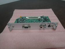 Sanyo MD04VGA-10 Input Board Card Analog RGB Audio Control Port Projector LW40