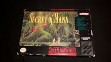 Secret of Mana - Super Nintendo SNES Game - Boxed + Manual