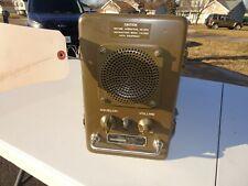 US SIGNAL CORPS MILITARY RADIO RECEIVER  P-257/U SURPLUS 1956.