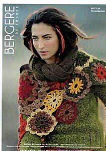 Knitting & Crochet pattern ~ Bergere de France no 175.88 scarf/shawl