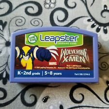 LeapFrog Leapster Game - WOLVERINE AND THE X-MEN - Cartridge Only