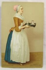 Walter Baker & Co. CHOKOLADENMADCHEN Chocolate Lovely Maiden Vintage Postcard