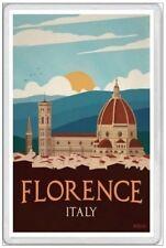 FLORENCE  - JUMBO FRIDGE MAGNET - ITALY ITALIAN TRAVEL VACATION