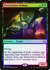 Desecration Demon FOIL Modern Masters 2017 NM Black Rare MAGIC CARD ABUGames