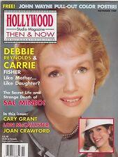 NOV 1989 HOLLYWOOD STUDIO vintage movie magazine DEBBIE REYNOLDS - CARRIE FISHER