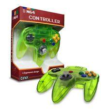 Cirka N64 Wired Controller (Jungle Green Cyan) for Nintendo 64