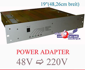 Power Adapter Continuous Power 48V Dc On 220V AC Ups USV