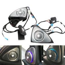 Fit Benz C-Class W205 S-Class W222 3D Tone Dual Car Grille Horns Speaker Tweeter