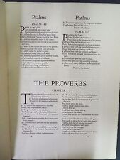 Leaf from the Rogers Oxford Lectern Bible - 1935 - Limited Edition