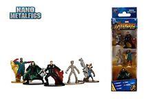 Jada Nano Figures Disney 5 pack Marvel Infinity Wars B Rocket Groot Thor Vision