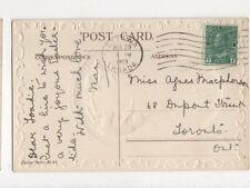 Miss Agnes Macpherson Dupont Street Toronto Canada 1913 474a