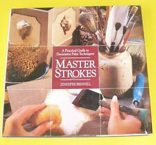 Master Strokes Decorative Painting Techniques! 1991 Nice See!