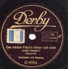 Schlager 1928 : Das schöne Fräulein Helen soll nicht mehr baden