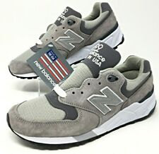 New Balance NB 999 Made in USA Grey Pewter Suede Mens Size 5.5/Womens 7  M999CGL