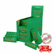 More details for new rizla green regular cigarette rolling papers 1 pack 5 booklets ( 250 papers)