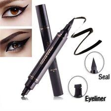 Winged Eyeliner Stamp Waterproof Cosmetic Eye Liner Pencil Black Liquid Makeup