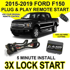 2015-2019 Ford F-150 Remote Start Plug & Play Easy Install F150 3X Lock FO2