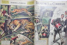 LA DOMENICA DEL CORRIERE 17 febbraio 1963 Mini auto Vietnam Gran Paradiso Tigre