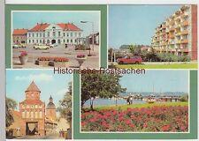 (99684) AK Ribnitz-Damgarten, Mehrbildkarte, 1983