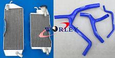 KAWASAKI KXF450 KX450F 2010 2011 2012 13 2014 2015 Aluminum Radiator + hose BLUE