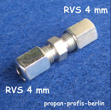 Schneidringverschraubung G 4 mm Ermeto für z.B. Gasrohr (Rohrverschraubung)