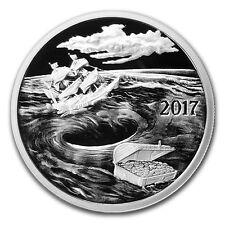 2017 ~ 1~OZ .999 SILVER ROUND~ SILVERBUG ISLAND WHIRLPOOL ~PROOF~CAPSULE~ $34.88