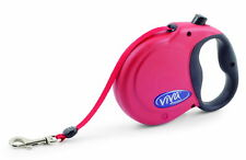Viva Extendable Lead Tape Small Red 20kg-5m