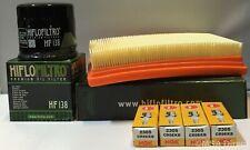 Aprilia 1100 V4 Tuono RR (15 to 17) Service Kit (Air / Oil Filter / Spark Plugs)